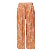 Entspannt-elegante Sommerhose mit Print