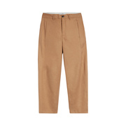 Leinenmix-Hose von 'Closed' in Goldbraun