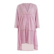 Luftiges Tunika-Kleid aus Baumwolle