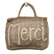 Kleinerer Jute-Shopper 'Merci'