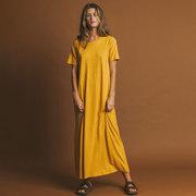 Langes Shirt-Kleid von 'Thinking MU'