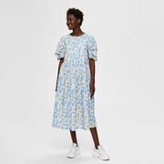 Statement-Kleid mit grafischem Print
