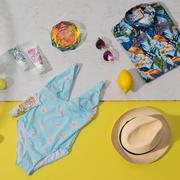 Blumiges Badekleid 'Lily Petal'