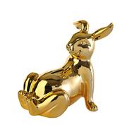 Goldige Spardose 'Bunny'