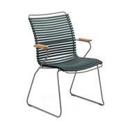 Stuhl 'Click' mit hoher Lehne
