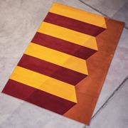 Grafischer Teppich 'Frietjes II'
