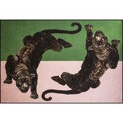 Tierischer Teppich 'Panthera 1'
