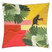 Wunderschönes Seiden-Carré 'Monkey Palms'