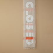 Weicher Logo-Schal von 'Closed'