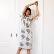 'Sander Dress Deco Girls Print' von Komana