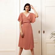 'Astra Wrap Dress Blush' von Komana