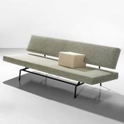 60s Design-Ikone: Schlafsofa 'BR 02'