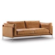 Sofa 'Slimline' in Naturleder