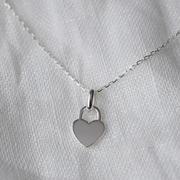 Halskette 'Heart Lock'
