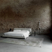 Stoff-bezogenes 'Neowall Bed'