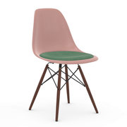 Eames Plastic Side Chair 'DSW' mit Sitzpolster