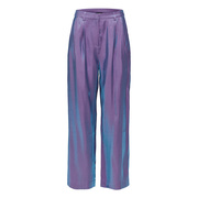 Wow-Piece: Glänzende Hose in Grape