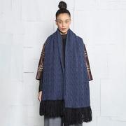 Handgefertiger XL-Schal von 'Nom Commun'