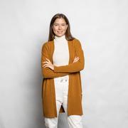 Liebster Woll-Cardigan von 'Klitmøller' in Amber