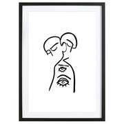Grafische Liebeserklärung: Bild 'Eye want you'