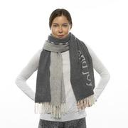 'Hygge'-Schal aus weichem Wollmix