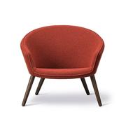 Geräumiger Lounge Chair 'Ditzel'