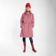 Zuverlässiger Regen-Parka in Rosé oder Khaki