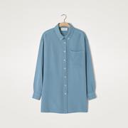 Blaue Hemdbluse von 'American Vintage'