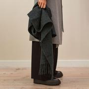 Weichwarmer Alpaka-Schal in Farben