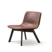 Lounge Stuhl 'Pato Wood Base'