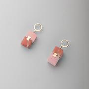 Handgefertigte Ohrringe in 2 Farbstellungen