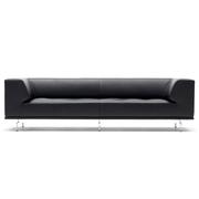 Klassisches Sofa 'Delphi' in Leder
