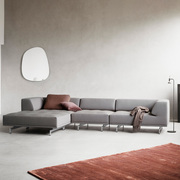 Grosses Sofa 'Delphi' in Wollstoff