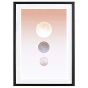 Mystisches Bild 'Moon Triplet'