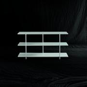 Schmales Bücherregal 'Aero'