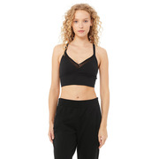 Sport.les for Alo Yoga: Sport-Top in Schwarz