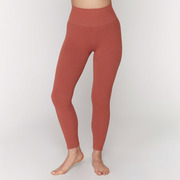 Sport.les for Spiritual Gangster: Leggings in Rostrot