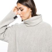 Kuschlig und cool: Fleece-Oversize-Rolli