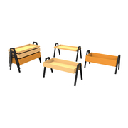 3er Set Couchtisch 'Stack Table'