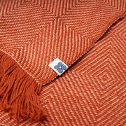 Weiches Plaid 'Square' aus Alpakawolle