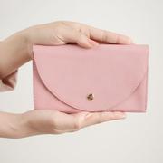 Artisanale Portemonnaie-Clutch in Farben