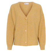 Warmweicher Cardigan in 'Amber Gold'