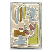 Eklektischer Teppich 'Puzzle Nuageux'