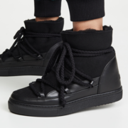 Warmer 'Inuikii Classic Sneaker' in Schwarz