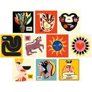 10er Postkarten-Set von 'Bureau Alice'