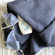 Weseta badetuch blau 1