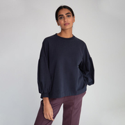 Weicher Sweater im Oversize-Look