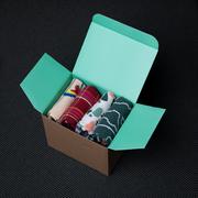 4er-Sockenset 'Box2' von Paar