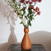 Terrakotta-Vase 'Slimane Carafe'