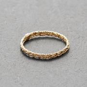 Geschenksidee: Ring in geflochtener Optik